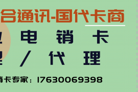 您身边的电销卡专家杨经理